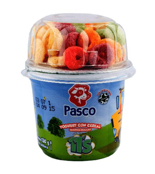 yogurt con cereal, yoghurt para niños, yogurt para niños, yogurt con cereal, yogurt con hojuelas, yoghurt con crispi